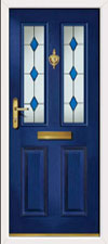 Clifton Blue Diamond  New Composite front door