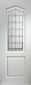 Classic Diamond Sparkle pvc internal doors