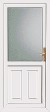 Dundee double glazed upvc back door