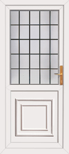 Pvc Greenock rear door