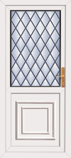 Diy leaded upvc rear door