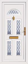 Carron Upvc front doors