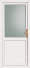 Rear entrance upvc door
