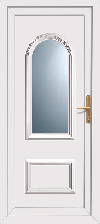 Supply only pvc back door