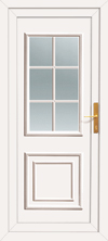 Cheap upvc back door