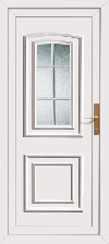 Low price upvc back door