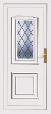 Ready made upvc rear door
