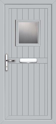 Light Gray Upvc Door