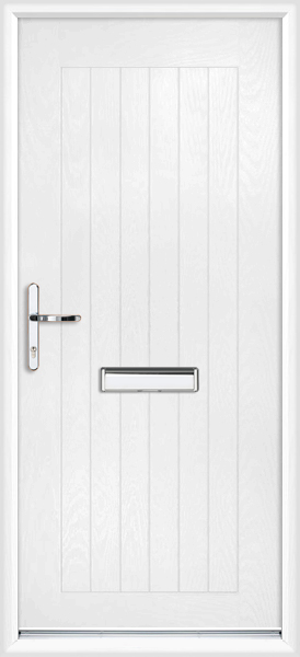 Kingston Composite Door white