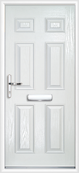 Carlton Composite Door White