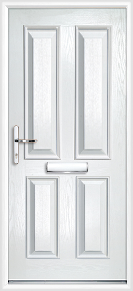 Clifton Composite Door White