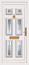 Pvc door with price