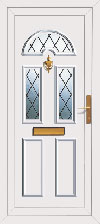 upvc door with frame