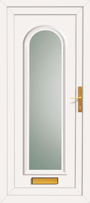 Replacement upvc front and back exterior doors made to measure for Ready made upvc doors