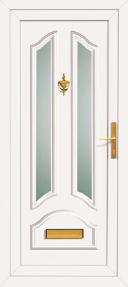 Coloured upvc wood grain door for Coloured upvc doors