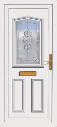 Pre hung upvc front door for Ready made upvc doors