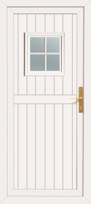 Cottage style upvc doors