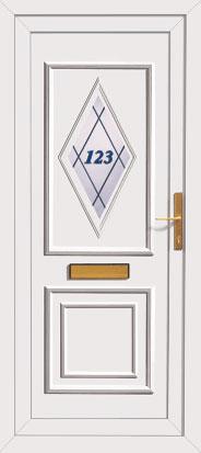 Diy pvc external doors for Ready made upvc doors