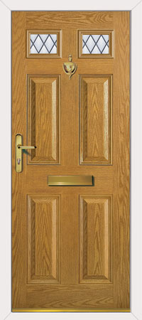 Carlton Diamond Lead  New Composite front door