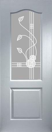 Classic Sandblast MacKintosh pvcu internal doors & Internal doors pvcu