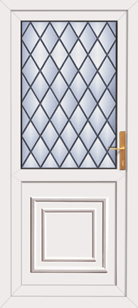 Upvc back door style for Back door styles