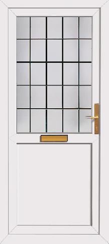 Free delivery upvc back door for Cheap upvc back door