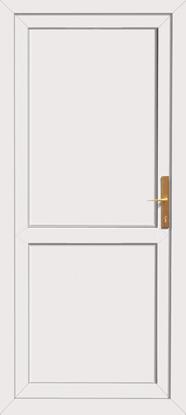 Click to Enlarge  sc 1 st  UPVC Doors Front Doors Back Doors Internal Doors Pvc door & White back door