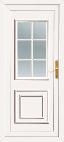 classic pvc back door