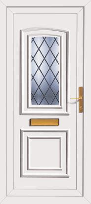 High Quality Pvc Front Doors
