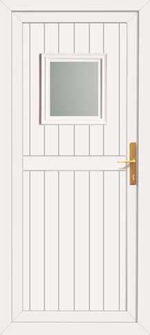 cheap pvc back door