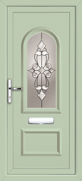 chartwell green upvc front door
