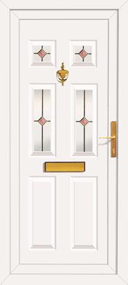 Click to Enlarge  sc 1 st  UPVC Doors Front Doors Back Doors Internal Doors Pvc door & Upvc front door with Pilkington K glass