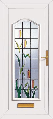 Mahogany Upvc Doors