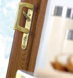 UPVC French door lock