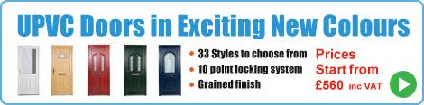 New Coloured PVC Doors